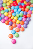 Multicolored chocolate candies — Stock Photo