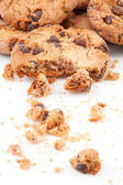 Close up of cookies piled up together — Stock Photo