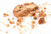 Cookie with a big part missing — Stock Photo