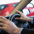 Mholding steering wheel — Stockfoto #14077708