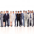Business standing up — Stock Photo