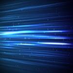 arrière-plan de lignes bleues — Photo