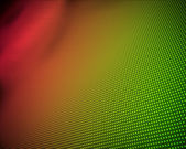 Background of multiple green and orange dots — Stock Photo