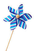 Blue pinwheel — Stock Photo