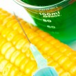 Corn next to beaker — Stock Photo #14145928