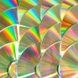 Stock Photo: Cd piled up