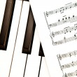 Music score — Stock Photo
