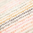 List of dna analysis — Stock Photo