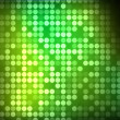 Multiples green and green dots — Stock Photo