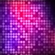 Multiples pink and purple dots — Stock Photo