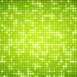 Multiples green dots — 图库照片