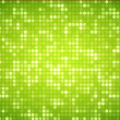 Multiples green dots - Stock Photo