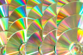 Cd piled up — Stock Photo