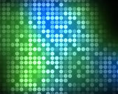 Multiples green and blue dots — Stock Photo