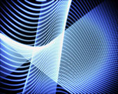Volute of blue lines — Stock Photo