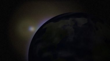 Rotating Planet Earth — Stock Video
