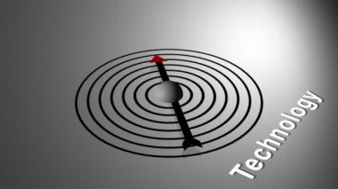 Technology Compass — Stock Video