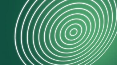 Spiral Waves Green — Stock Video