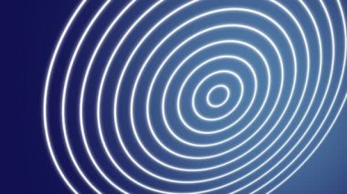 Spiral waves blue — Stock Video
