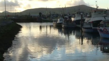 Stock Footage of Dingle in Ireland — Stock Video