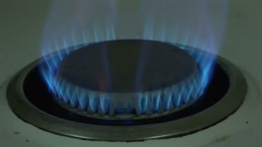 Stock Footage of Burning Gas — Stock Video