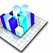 Stock Video of 3D Graph - Stock Photo