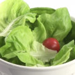 Royalty-Free Stock Vektorgrafik: Stock Footage of Preparing a Healthy Salad
