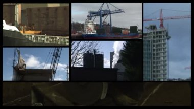 Industry Montage — Stock Video