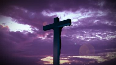 Religious stock footage of a Holy Cross