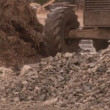 Bulldozer on a Construction Site — Видео