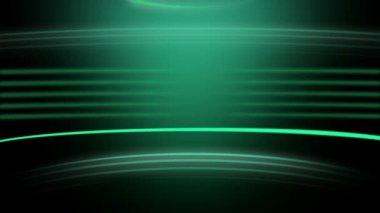 Animação das ações de um fundo verde de roda sem emenda — Vídeo Stock