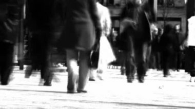 A Crowd of Walking — Stock Video #14625299