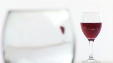 Pouring Red Wine — Stock Video