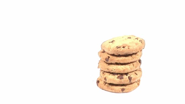 Cookies se come — Vídeo de stock
