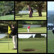 Stock Video Footage of Playing Golf - Stock Photo