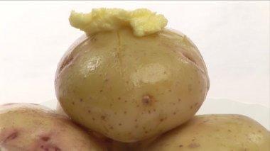 Potatoes — Stock Video