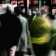 Abstract crowd walking — Stock Video #14792891