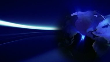 Night Globe background Seamless — Stock Video #14791427
