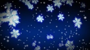 Starglow Snowflakes and snow