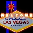 Las vegas Sign - Animated — Stockvideo