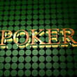 sinal de poker — Vídeo Stock