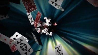 Glücksspiel schulden — Stockvideo