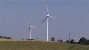 Wind-Turbine — Stock Video