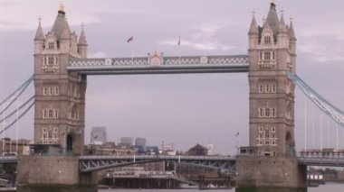 London City During the day — Stock Video