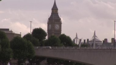 London stadt während des tages — Stockvideo