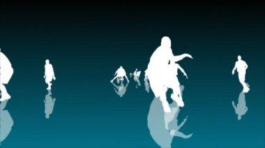 Basketball Animation — Stock Video #14948529