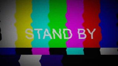 TV COLOR BARS — Stock Video