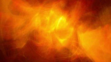Orange smoke glowing — Stock Video #15366819