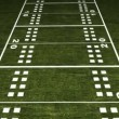 American Football Field - Foto Stock