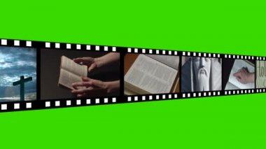 Religious footage montage — Stock Video